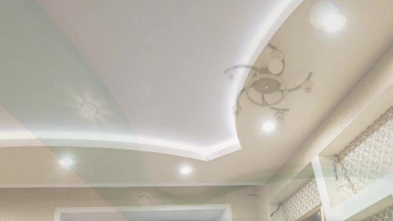 Натяжные потолки для спальных комнат
