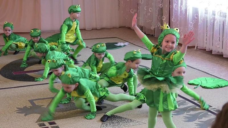 Уманські дзвіночки-2017 танок Веселі жабенята
