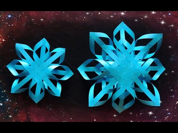 ABC TV | How To Make 3D Snowflake Paper 2- Craft Tutorial