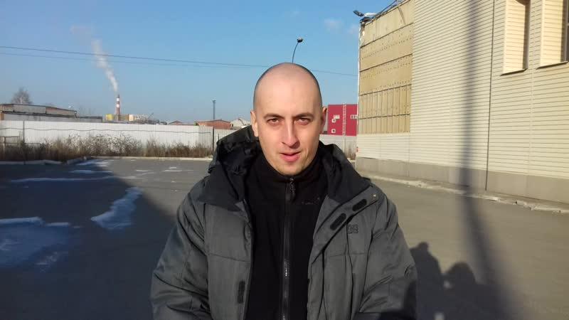 Сергей успешно сдал экзамен на Походной!