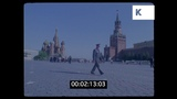 1980s Moscow, Red Square in the Sun, HD from 35mm