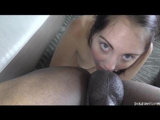 Nickey huntsman - dickdrainers xxx - clips4sale.com - scared daddy's girl repays dad's debt by tongue fucking a thug's black ass