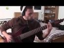 Дабстеп на гитаре Skrillex Bangarang