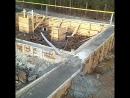 Итак фундамент залили,  ждём🏠... . . Дом дал корни,  врос в землю,  ведь фундамент это его основа.  Площадь 118 м кв,  два этажа