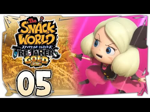 The Snack World: Trejarers Gold | The Ancient Treasure! [Chapter 5 on Nintendo Switch]