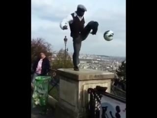 Футбольная акробатика