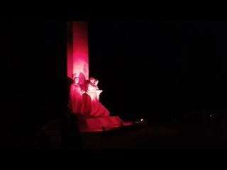 Свеча памяти в городе Каменск-Шахтинский, Россия