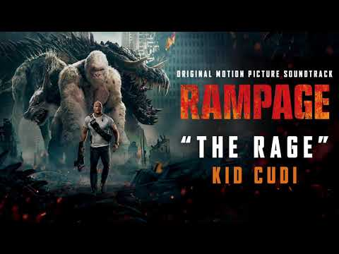 Kid Cudi - The Rage - From Rampage Original Motion Picture Soundtrack (official video)