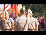 The Texas Corps of Cadets. We make leaders.  Техасские кадеты.