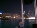 Дубаи. поющий фонтан😍