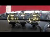 Необычный дисплей для автомобиля