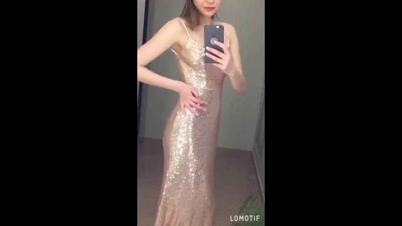 * LORAN рекомендует 👌🏻 • 🌌Потрясающее блестящее платье МЕЧТЫ 💎 «БРИЛЛИАНТ» 💎 🌓Исключительно сидит • 🖤в пол 🖤усыпано пайетками ✨