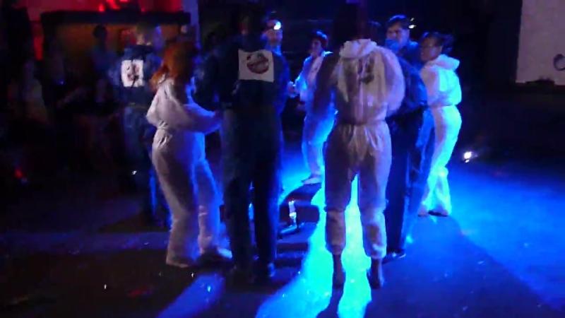 Постановка руэды Охотники за приведениями Студия танца Me gusta Декабрь 2014