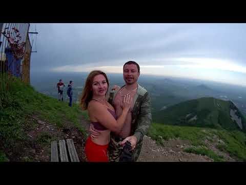 Восхождение на гору Бештау. Вечерняя прогулка с @natalifitness Тест новой экшн камеры soocoo s300