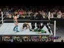 Wilds vs AIWF WWE 2K16 6 man Tag Tam Elimination