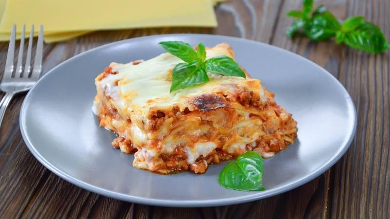 ЛАЗАНЬЯ ☆ Итальянская КУХНЯ ☆ Lasagne