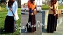 Spring Lookbook Styling Maxi Dress Abaya One Dress - Three Looks