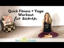Mood-Boosting Foga   Quick Total Body Workout