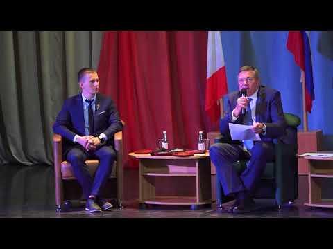 Кувшинников О.А. и Денис Спицов встретились с молодёжью.