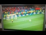 Испания-Россия🇷🇺⚽ 1:1(3:4 по пеналям)