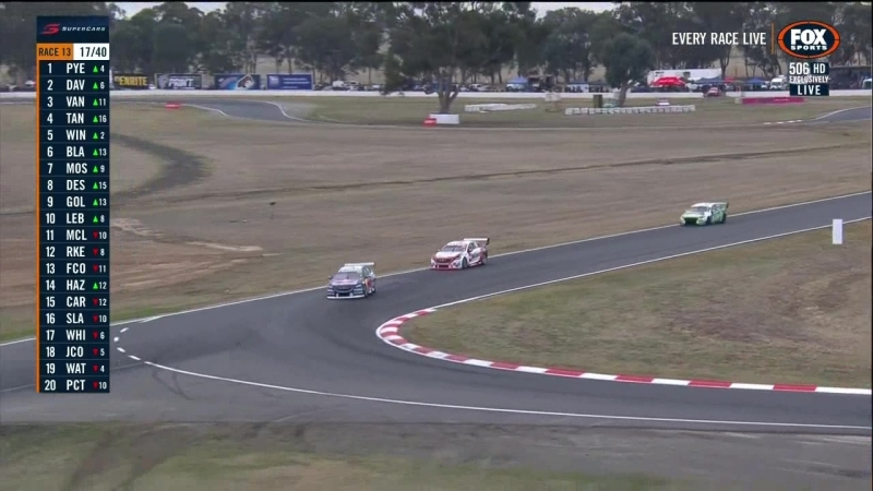 V8 Supercars 2018. Round 6. Winton. Race 1