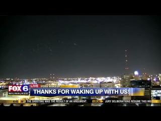 Salik.biz : НЛО в небе над Милуоки в США. Видео 1