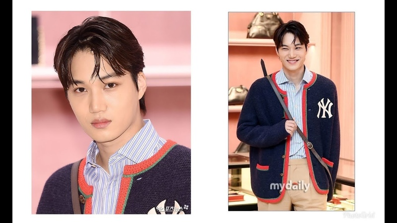 180703 EXO - KAI at Gucci Renewal Store Opening Event