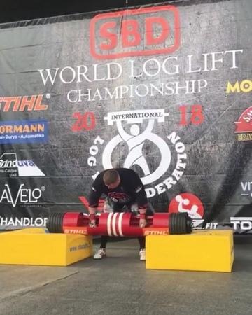 "Zydrunas Savickas BIG Z on Instagram ""SBD World loglift championship 1st place with best seasson result 215kg. Next step new world record in augu..."