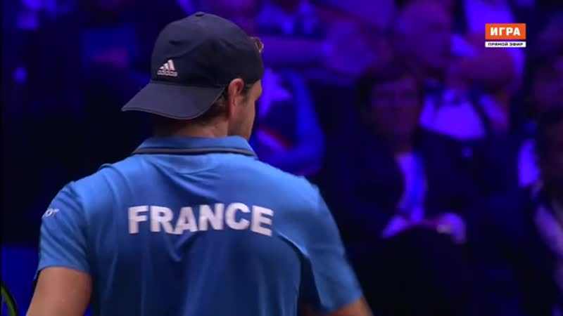 Кубок Дэвиса. Финал. Франция - Хорватия. 3-й матч news.sportbox.ru (chunklist) (via Skyload)