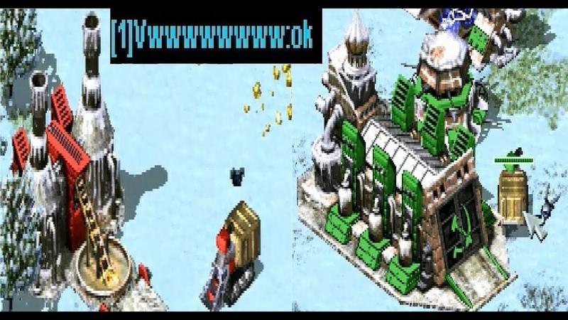 Red Alert 2 - PRO 2 vs 2 Soviets vs Soviets Game on the map Heck Freezes Over