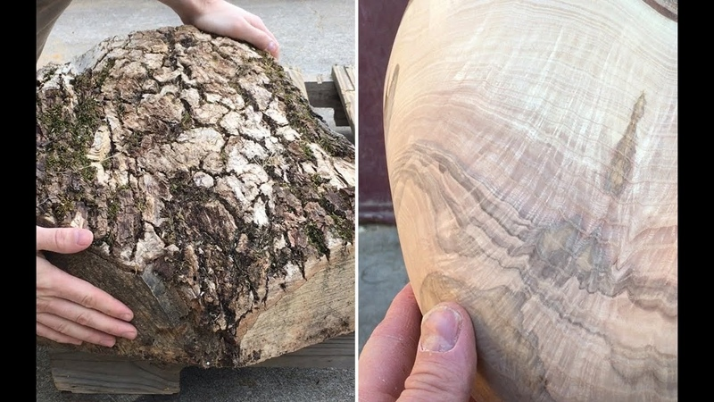 Carving a bowl in the most BEAUTIFUL wood Ive ever found!