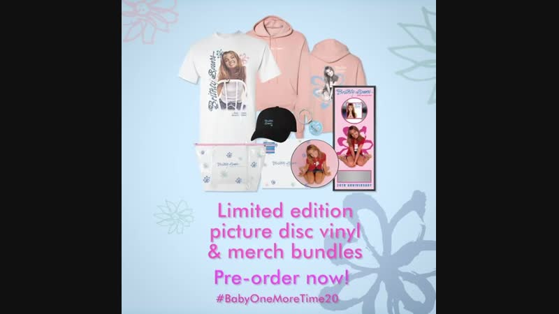 The ...Baby One More Time 20th Anniversary Collection