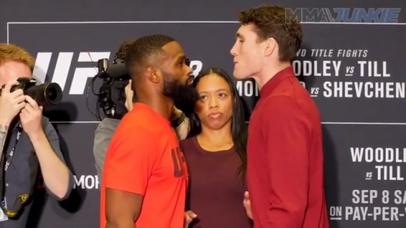 Face off UFC 228 Woodley vs. Till
