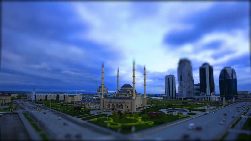 New Grozny in time lapse.