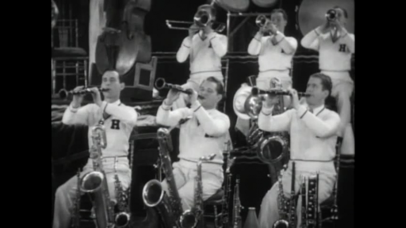 The Members Of The Horace Heidt Band Play And Tap Dance (1929)