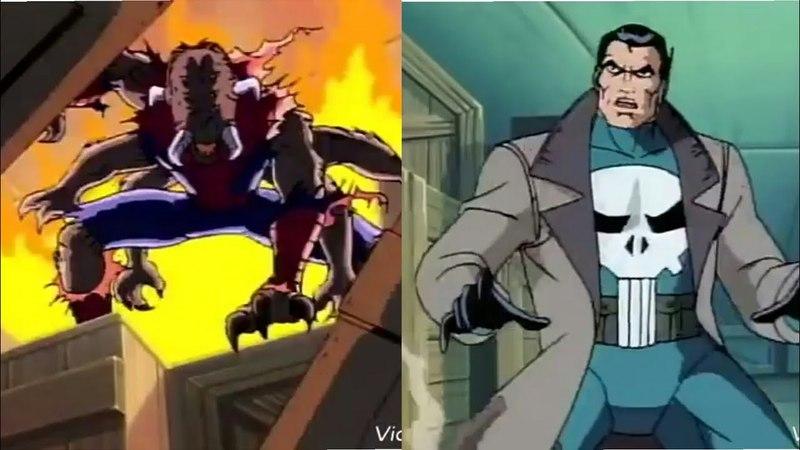 Монстр Человек-Паук против Карателя (Финал) Мультсериал 1994