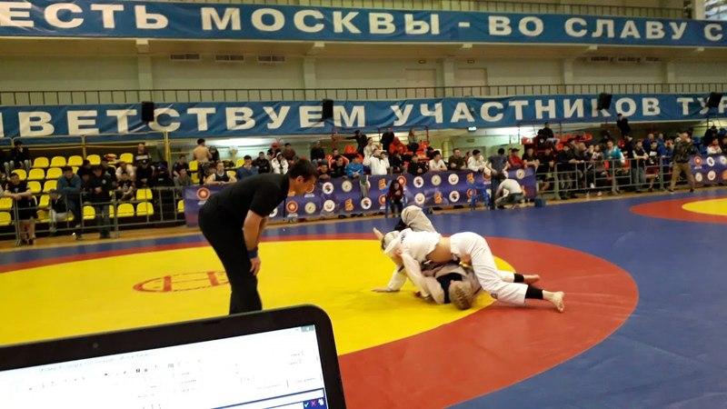 Всероссийский турнир UWW 20 05 2018 Gi 64 Ремнева Анна VS Санаева Ева