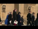 Another RoyalWedding for the books! KateMiddleton, MeghanMarkle, Prince William, and Prince Harry exit St. Georges Chapel togeth