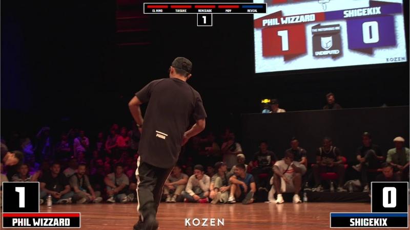 Shigekix vs Phil Wizard | SEMI FINAL | UNDISPUTED X I.B.E 2018 | Danceproject.info