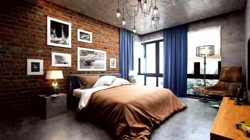 💗 Дизайн в стиле лофт лофт в интерьере квартиры спальная гостиная ванная кухня мебель