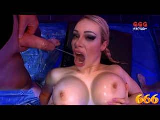 Ggg 666 - chessie kay scene [ pissing, gangbang, deep throat, piss in mouth, hardcore, rough sex, big tits, pornstar ]