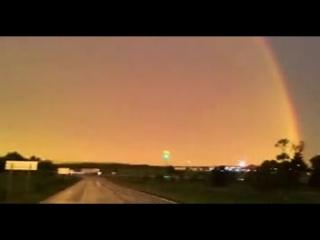 Случайно снятая молния