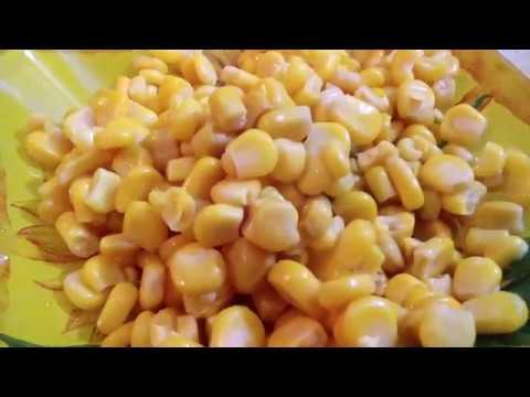 Капуста жареная пряная с кукурузой Просто очень вкусный ужин