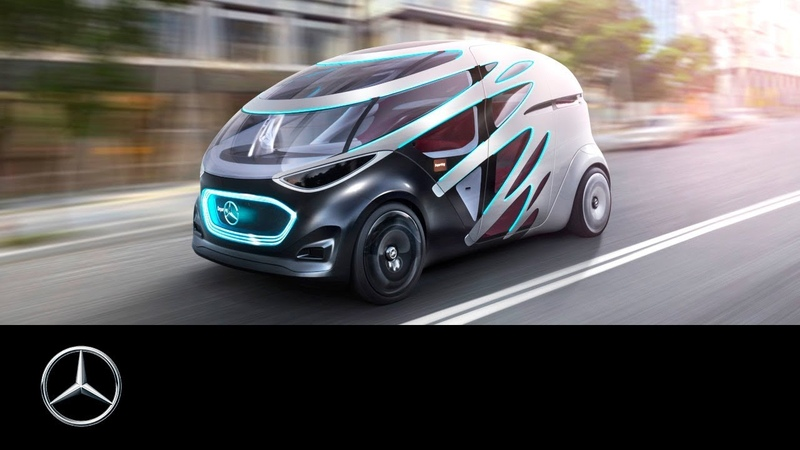 Mercedes Benz Vision URBANETIC Mobility for Urban Areas