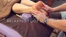 Relaxing asmr foot massage 👣👋🏼👩🏻😴