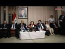Пресс-конференция вице-президента САР Наджах Аль-Аттар на открытии XXX Международной книжной выставки в Дамаске