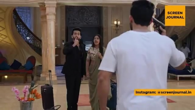 Ishqbaaz - Shivaay and Anika leave home - Behind the scenes on location.mp4