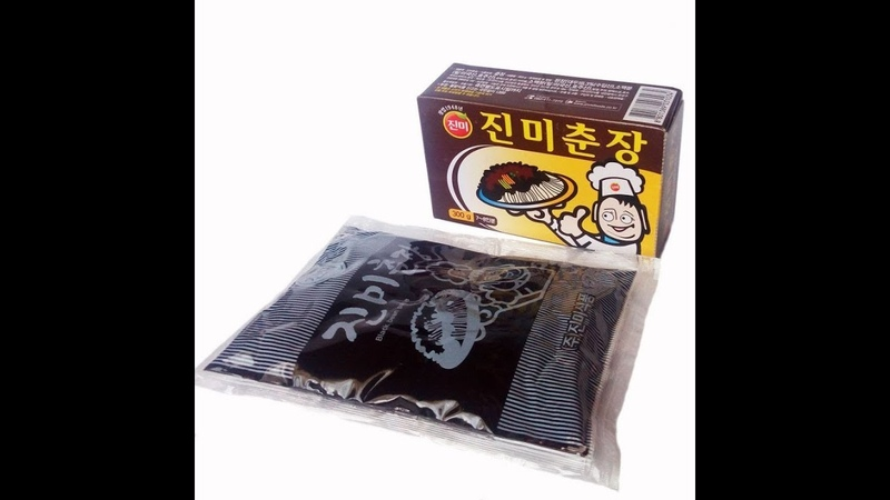 Восток - дело тонкое: Чаджян, паста для черного бобового соуса (обзор)