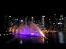 Сингапур. Световое шоу 3
