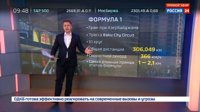 Новости на Россия 24 • Сергей Сироткин: первые практики в Баку получились неравноценными